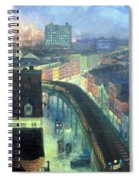 Sloan's The City From Greenwich Village Spiral Notebook