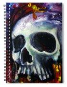 Sloppy Skull Spiral Notebook