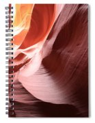 Slot Canyon Color Blend Spiral Notebook