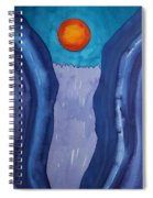 Slot Retablo Original Painting Spiral Notebook