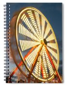 Slow Down The Ferris Wheel Spiral Notebook