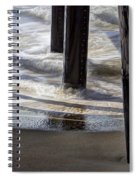Slow M'ocean Spiral Notebook