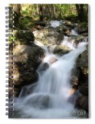 Slow Shutter Waterfall Scotland Spiral Notebook