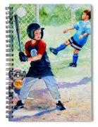 Slugger And Kicker Spiral Notebook