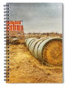 Slumbering In The Countryside Spiral Notebook