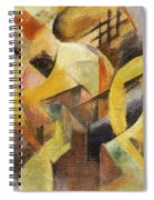 Small Composition 1913 Spiral Notebook
