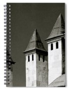 The Small Minarets Spiral Notebook
