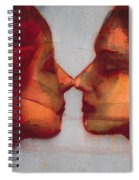 Small Mirror Twin Spiral Notebook