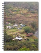 Small North Maui Town Spiral Notebook