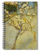Small Pear Tree In Blossom Spiral Notebook