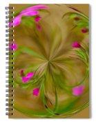 Small Pink Buds Spiral Notebook
