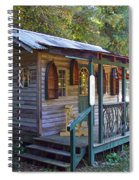 Small Shop In Horseshoe Spiral Notebook
