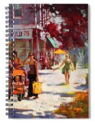 Small Talk In Elmwood Ave Spiral Notebook