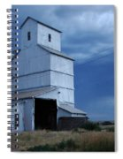 Small Town Hot Night Big Storm Spiral Notebook