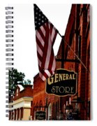 Small Town Patriotism Spiral Notebook