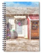 Small Town Pit Stop  Spiral Notebook