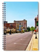Small Town Spiral Notebook