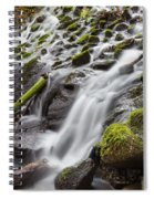 Small Waterfalls In Marlay Park Spiral Notebook