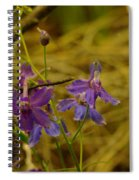 Small Wild Blossoms Spiral Notebook