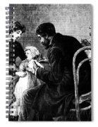 Smallpox Vaccination, 1883 Spiral Notebook