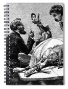 Smallpox Vaccine, 1883 Spiral Notebook