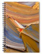 Smeared Paint Spiral Notebook