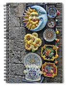 Smile Of The Sun Kiss Of The Moon Spiral Notebook