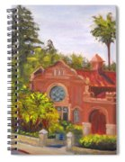 Smiley Library Spiral Notebook