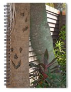 Smiley Tree Spiral Notebook
