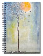 Smiling At Days End Spiral Notebook