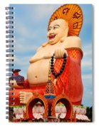 smiling Buddha Spiral Notebook