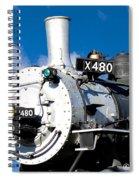 Smiling Locomotive Spiral Notebook