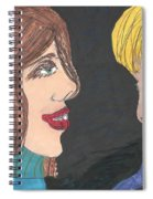 Smiling Princesses Spiral Notebook