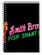 Smith Bros. Fish Shanty Spiral Notebook