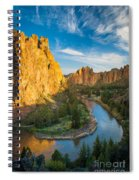 Smith Rock River Bend Spiral Notebook
