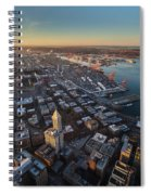 Smith Tower And West Seattle Spiral Notebook