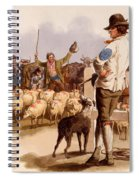 Smithfield Drover, From The Costumes Spiral Notebook