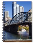 Smithfield Street Bridge Spiral Notebook