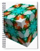 Smoke 3d 1 Spiral Notebook