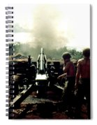 Smoke And Noise Spiral Notebook