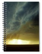 Smoke And The Supercell Spiral Notebook