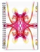 Smoke Art 89 Spiral Notebook