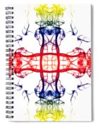 Smoke Cross 4 Spiral Notebook