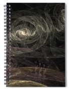 Smoke Dancers Spiral Notebook