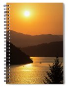 Smoke From Bc Wildfires Adds Colour Spiral Notebook