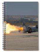 Smoke N Thunder Jet Car Spiral Notebook