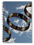 Smoke Rings In The Sky 1 Spiral Notebook