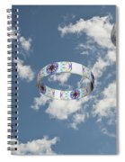 Smoke Rings In The Sky 2 Spiral Notebook