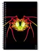 Smoke Spider Spiral Notebook