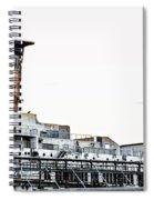 Smoke Stacks - Ss United States - Philadelphia Spiral Notebook